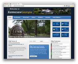 City of Kennesaw Website